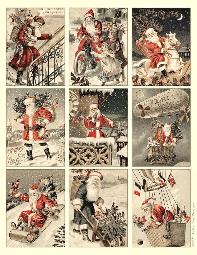 Immagini Natale Vintage Gratis.Auguri Di Natale Vintage Elisa Bassanelli